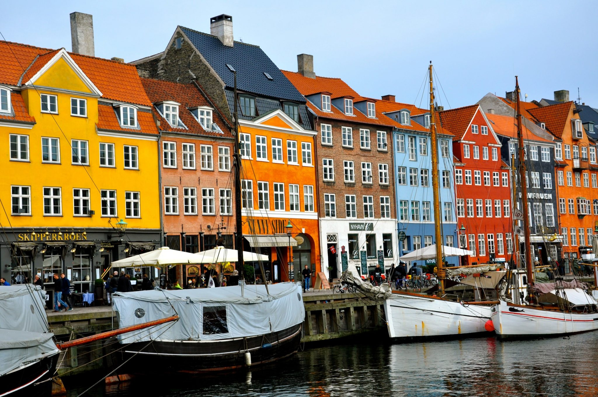 Nyhavn Copenhagen Denmark Voy