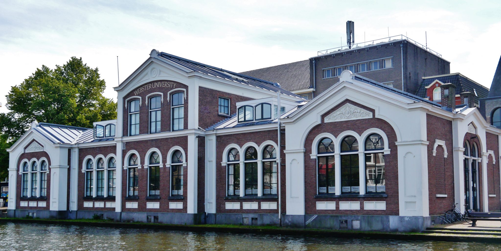 Webster University Leiden-- one of their first international campuses